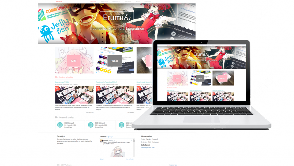 Template Wordpress - Erumin